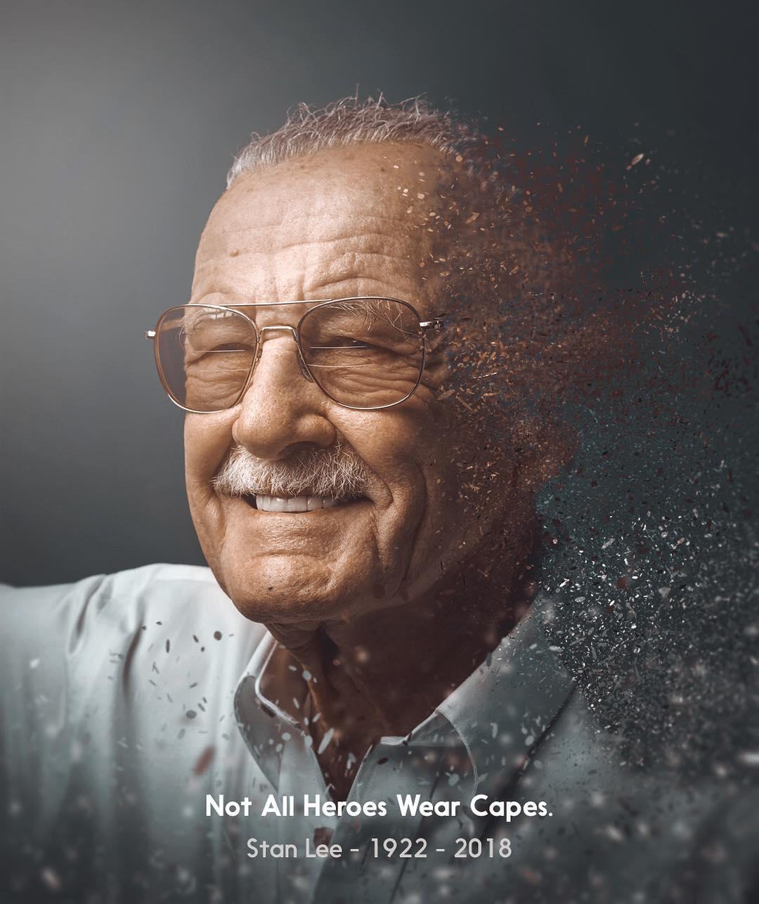 Stan Lee - Not All Heroes Wear Capes by Shaun Ryken