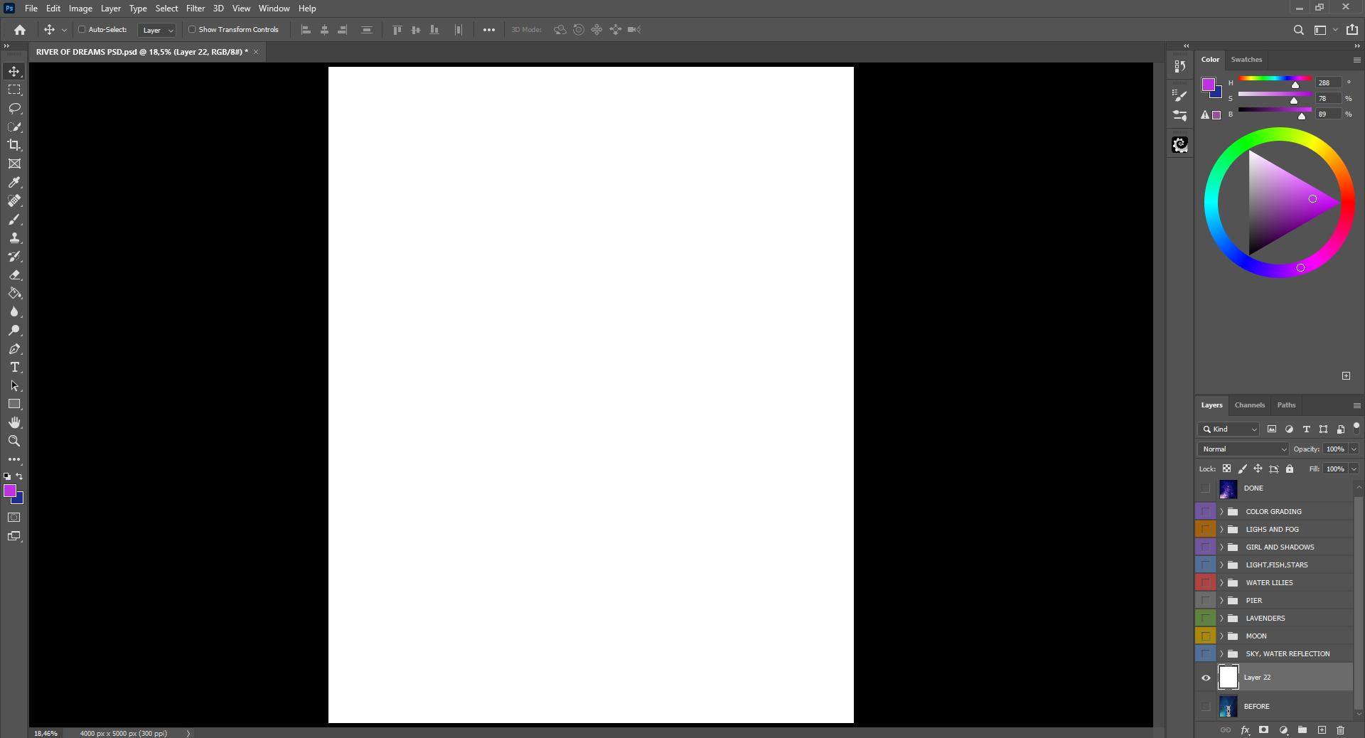 Creating canvas