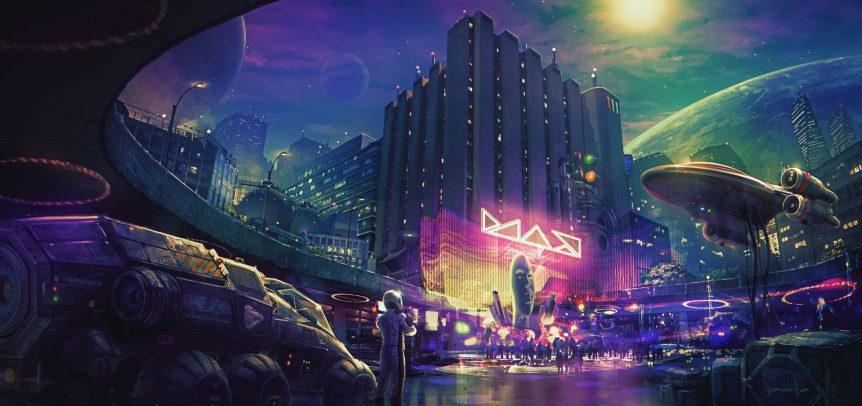 Cyber City by Dave Pasciuto