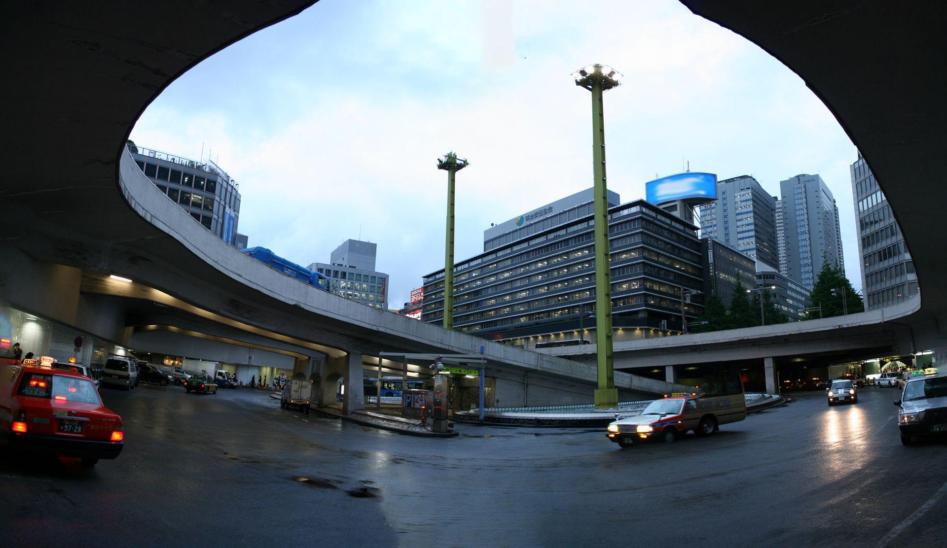 Shinjuku Train Station photo by Dave Pasciuto